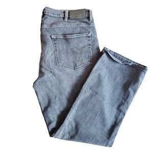 DENVER HAYES  Classic Fit  Gray Black Jeans 36